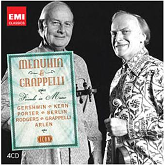 Menuhin and grappelli with friends in music/icon