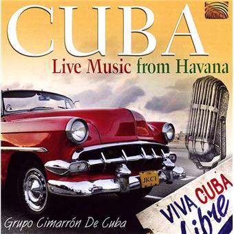 Cuba live music from Havana