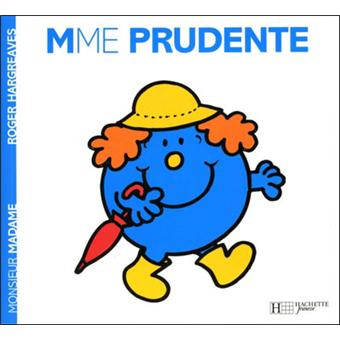 Monsieur madame madame prudente roger hargreaves broch achat livre fnac - Collection livre monsieur madame ...