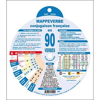 Mappeverbe Conjugaison Francaise En 90 Verbes Cartonne A M Baverel Achat Livre Fnac