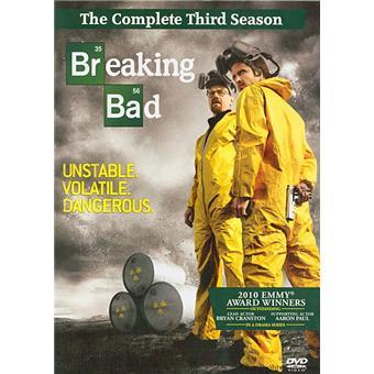 Breaking BadCoffret intégral de la Saison 3 - Import US - DVD Zone 1