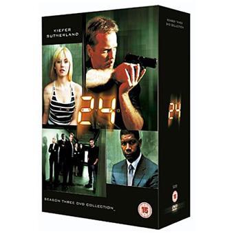 24 heures chrono24: Season 3 DVD-Box
