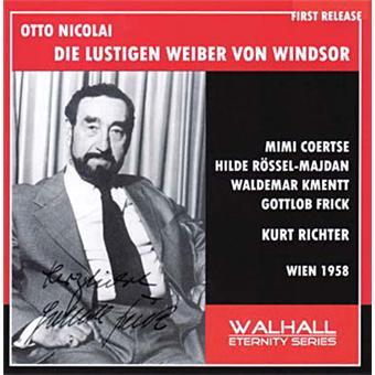 NICOLAI,O.: Die Lustigen Weiber Von Windsor (Wien 1958)