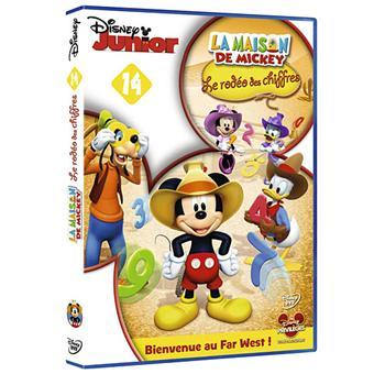 La Maison de MickeyLa Maison de Mickey Volume 14 Le rodéo des chiffres DVD