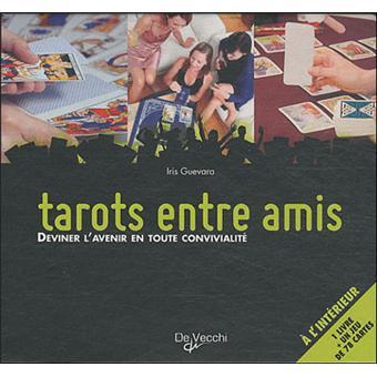 Coffret tarots entre amis Coffret avec 1 jeu de tarot divinatoire et ... c8ee321cc511