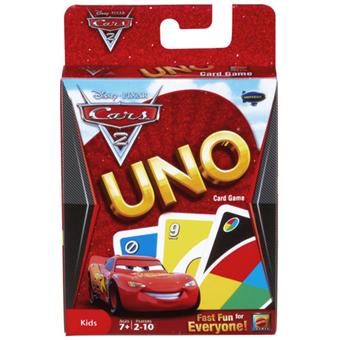 Mattel - Uno Cars 2
