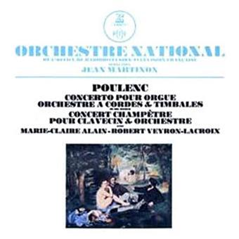 Concerto pour orgue, orchestre, cordes et timbales - Concert champêtre