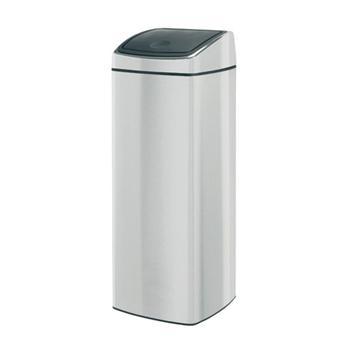 brabantia 384929 poubelle touch bin 25 litres matt. Black Bedroom Furniture Sets. Home Design Ideas