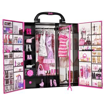 mattel barbie fashionistas dressing de r ve accessoire poup e achat prix fnac. Black Bedroom Furniture Sets. Home Design Ideas