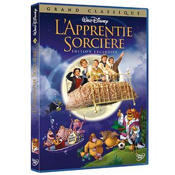 L'Apprentie sorcière DVD