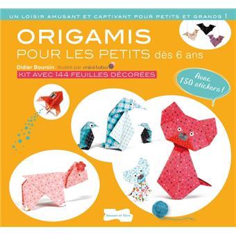 origami pour les petits nouvelle dition broch didier boursin achat livre fnac. Black Bedroom Furniture Sets. Home Design Ideas