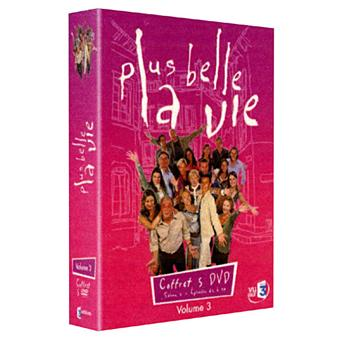 Plus belle la ViePlus belle la Vie - Coffret - Volume 3 - Episodes 61 à 90