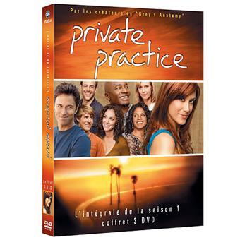 Private PracticePrivate Practice - Coffret intégral de la Saison 1