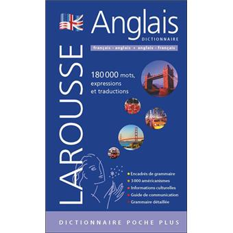 Dictionnaire Larousse poche plus français-anglais et anglais-français