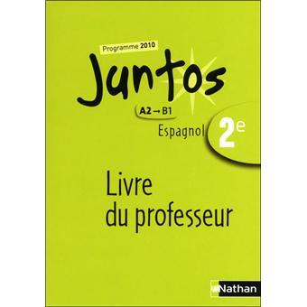 Juntos 2e livre du prof 2010