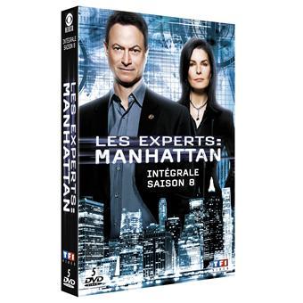 Les Experts ManhattanCoffret intégral de la Saison 8