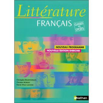 Litterat Francais El Cl Lycee