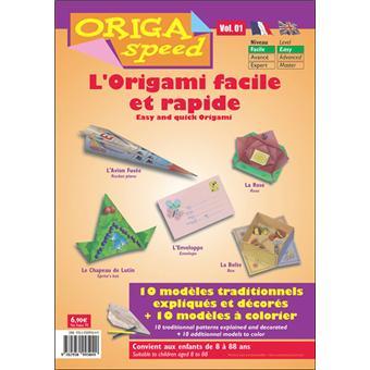 l 39 origami facile et rapide tome 1 reli denis dugu achat livre fnac. Black Bedroom Furniture Sets. Home Design Ideas