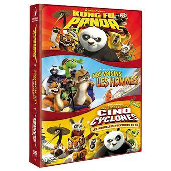 Kung fu panda les secrets des cinq cyclones nos voisins les hommes coffret dvd zone 2 - Les 5 cyclones ...