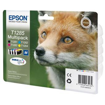 Cartouche d'encre Epson T1285 Renard - Multipack 4 cartouches