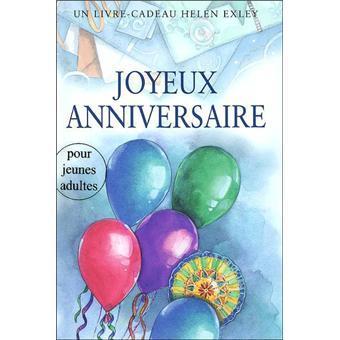 Joyeux Anniversaire Adulte Nlle Edition Broche Exley H