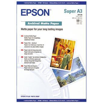 papier photo a3 epson s041340 papier pour imprimante. Black Bedroom Furniture Sets. Home Design Ideas