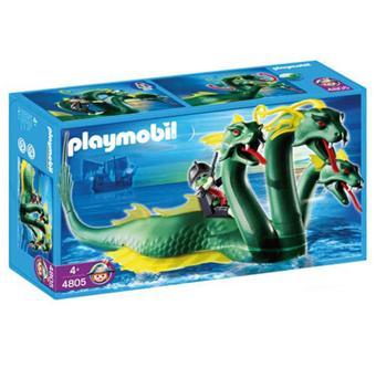 Playmobil 4805 serpent de mer 3 t tes et pirate fant me - Pirate fantome ...
