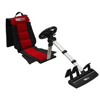 volant sans fil si ge baquet pour ps2 ps3 et pc bigben accessoire console de jeux achat. Black Bedroom Furniture Sets. Home Design Ideas