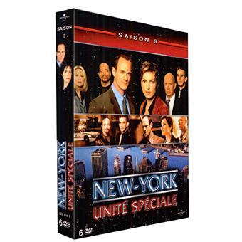 New York Unité SpécialeNew York Unité Spéciale - Coffret intégral de la Saison 3