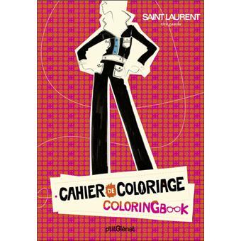 Cahier De Coloriage Pret A Porter Luxe Broche Collectif