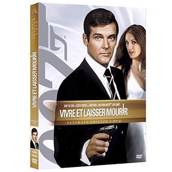 James BondVivre et laisser mourir DVD