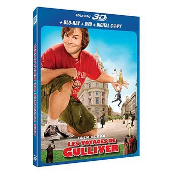 Les Voyages de Gulliver Combo Blu-ray 3D active + DVD