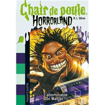 Horrorland Tome 5 Abominable Doc Maniac L Horrorland N5