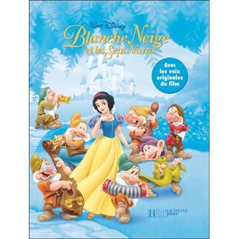 Disney Princesses Livre Avec Un Cd Audio Blanche Neige Et Les Sept Nains