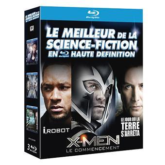X-MenX-Men : Le commencement - I, Robot - Le jour où la Terre s'arrêta - Coffret Blu-Ray