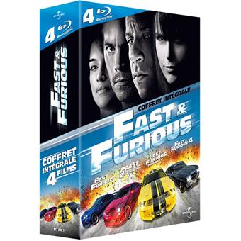 Fast and Furious - L'intégrale - Blu-Ray