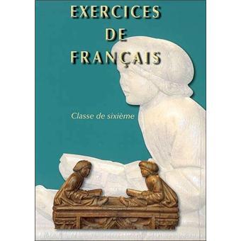Exercices De Francais Classe De 6eme Broche Collectif Achat Livre Fnac