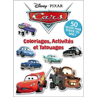 Cars Coloriages Activites Et Tatouages Walt Disney Broche