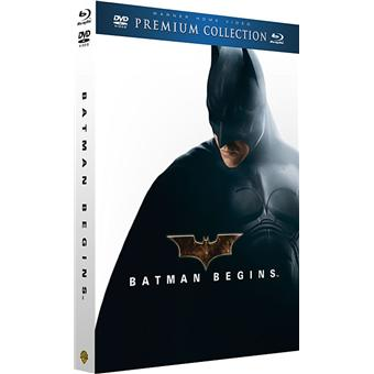 Batman Begins - Premium Collection - Combo Blu-Ray + DVD