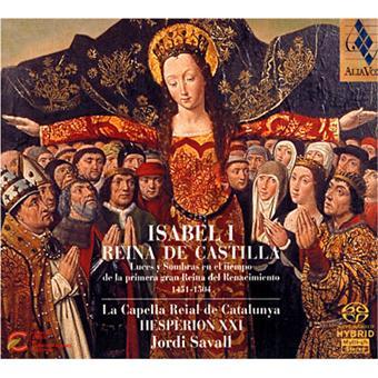 Isabel I Reina de Castilla - Super Audio CD hybride