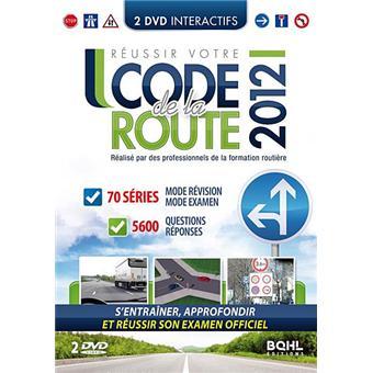 r ussir votre code de la route 2012 dvd zone 2 achat prix fnac. Black Bedroom Furniture Sets. Home Design Ideas