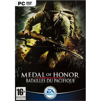 medal of honor batailles du pacifique