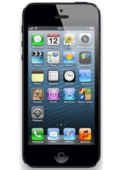 apple iphone 5 16 go noir ardoise smartphone achat. Black Bedroom Furniture Sets. Home Design Ideas