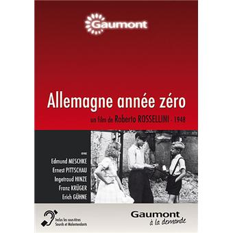 Allemagne année zéro DVD