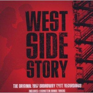 West side story - distribution broadway 1957 - Max Goberman