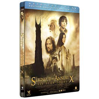Le Seigneur des anneauxLes Deux Tours - Blu-Ray - Boîtier Métal