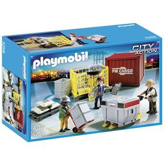 Playmobil City Action - Cargo Loading Team