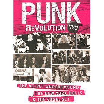 Punk revolution NYC - Velvet Underground - New York Dolls - CBGB