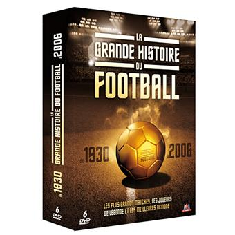 GRANDE HISTOIRE DU FOOT-6 DVD-VF