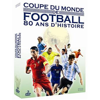 la coupe du monde de football 80 ans d 39 histoire coffret dvd zone 2 achat prix fnac. Black Bedroom Furniture Sets. Home Design Ideas